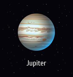Solar system object jupiter vector
