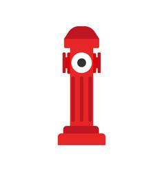 hydrant icon fire departament equipment icon vector image vector image