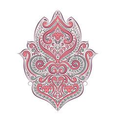 vintage decorative ornament element vector image