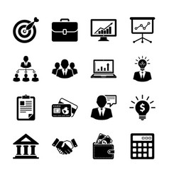business and finance vector image