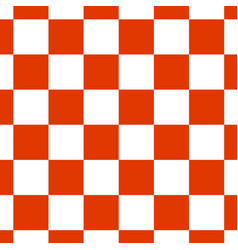 Chessboard or checker board seamless pattern in vector