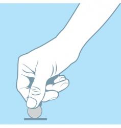 Coin slot vector