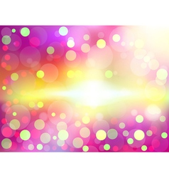 Colorful soft focus background vector image