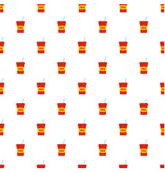 juice pattern seamless vector image