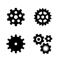 pinion simple related icons vector image