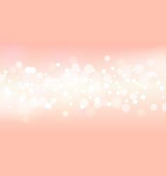 Pink sparkling blurred background vector