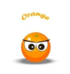 a orange vector image vector image