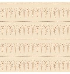 Ancient Seamless Wallpaper vector image