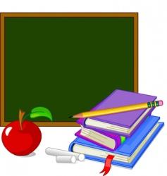 Back to school design elements vector