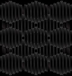 Black tile background vector