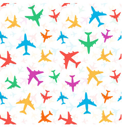 Cheerful bright colorful pattern colored vector