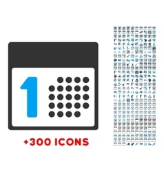 First Day Icon vector