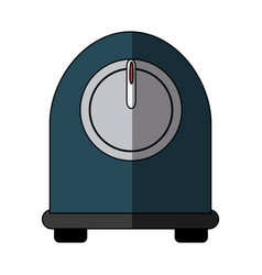 kitchen timer cooking utensil object vector image