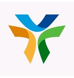logo design element Abstract modern vector image
