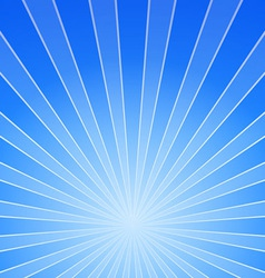 Shiny blue background vector
