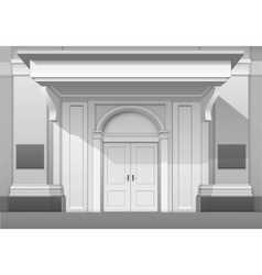 Shop Museum Boutique Building Store Front Isolated vector image