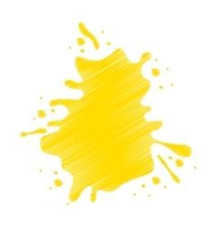 splash liquid isolated icon vector image