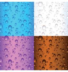 water drop backgrounds vector image