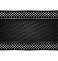 Background - Racing dark vector image vector image