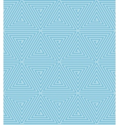 Seamless Geometric Retro Pattern vector image vector image