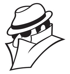 Spy icon1 resize vector image vector image