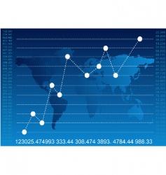 finance report vector image vector image