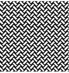 Abstact seamless pattern brick ornament diagonal vector