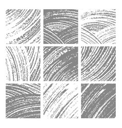 abstract hand drawn textured backgrounds vector image