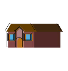 House home residence architecture construction vector
