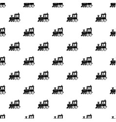 Locomotive pattern seamless vector