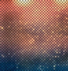 Metallic mosaic background vector image