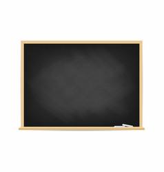 school blackboard dirty black chalkboard vector image