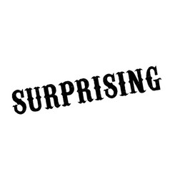 Surprising rubber stamp vector