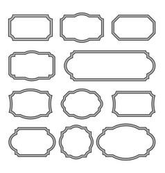 Vintage frames set - frames clipart bundle vector