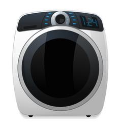 washer machine icon vector image
