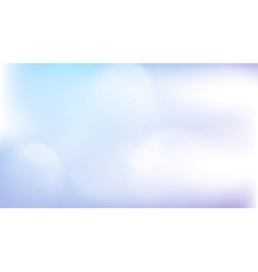 Light blue abstract gradient bokeh background vector image vector image