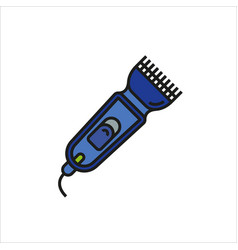 shaver symbol hairclipper icon vector image vector image