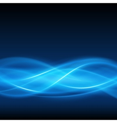 Abstract smooth light lines background vector