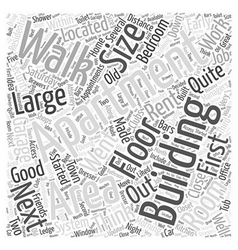 Apartment building Word Cloud Concept vector