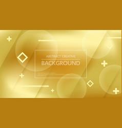 Beautiful golden background vector