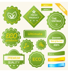 Eco Green Design vector image