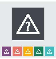 Frage vector image