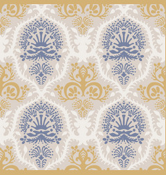 french shabchic damask texture vector image