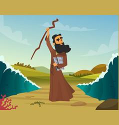 Historical biblical story vector