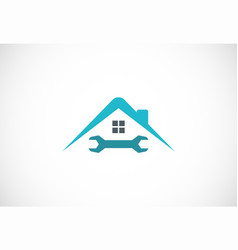House maintenance logo vector