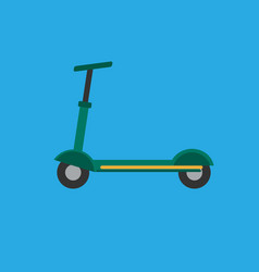scooter icon set of great flat icons for vector image