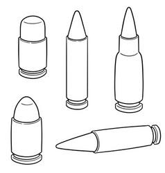 Set bullet vector