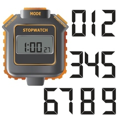 Stopwatch vector image vector image