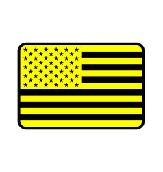 us flag icon vector image