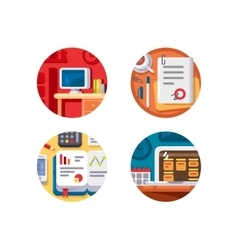 Creating business or creative project vector image